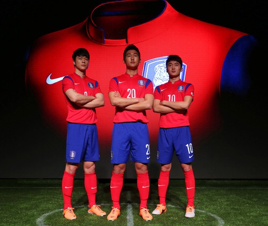 New South Korea 2014 Jersey