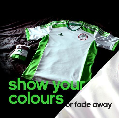 Nigeria Away Jersey 2014 World Cup