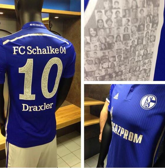 Schalke Home Kit 2014 15