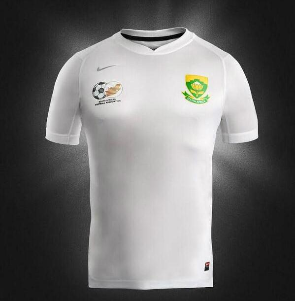 South Africa Nike Soccer Jersey 2014