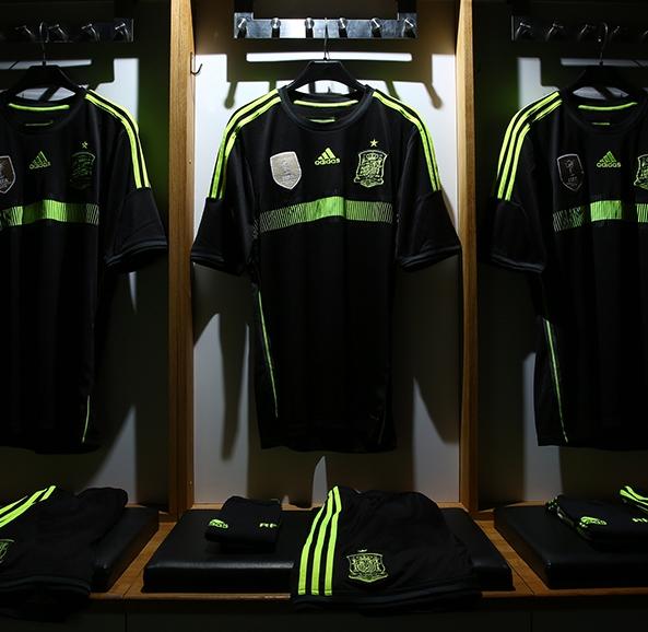 Spain Away Kit World Cup 2014