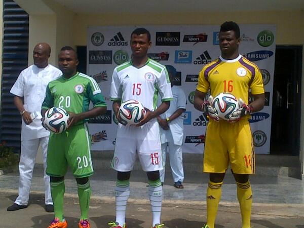 Super Eagles Shirt 2014