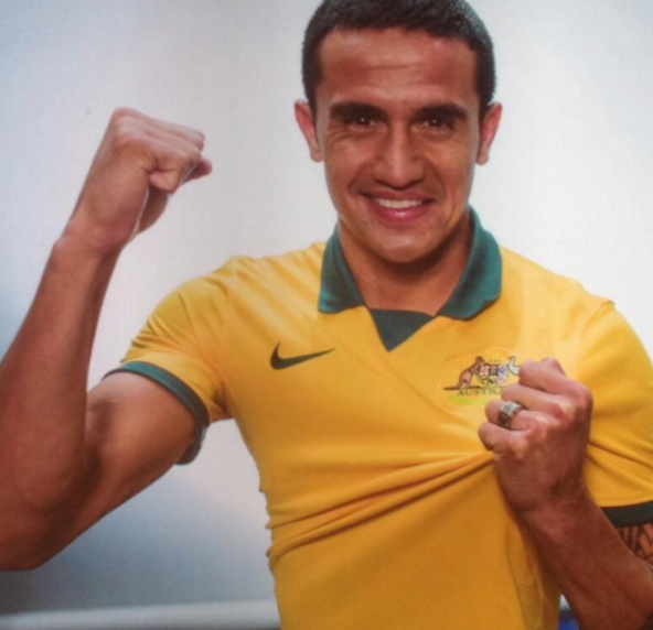 Tim Cahill Australia World Cup Kit 2014