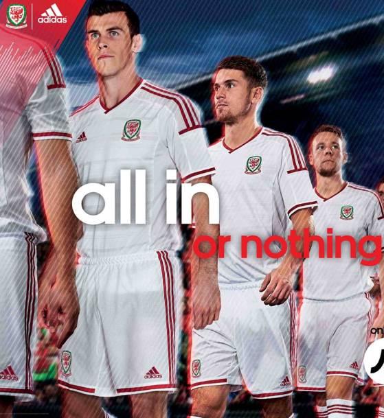 Wales Away Football Kit 2014
