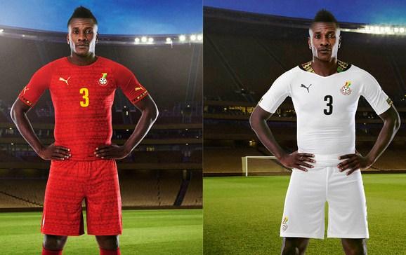 Asamoah Gyan Ghana Shirt 2014
