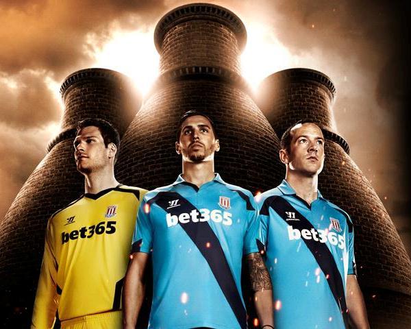 Blue Stoke Away Jersey 14 15