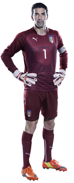Buffon Italy GK Jersey World Cup 2014