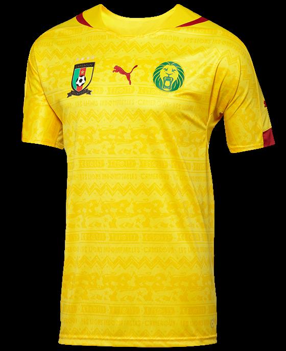 Cameroon Away Shirt 2014 15
