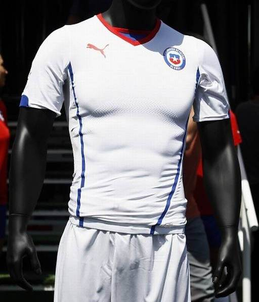 Chile Away World Cup Shirt 2014