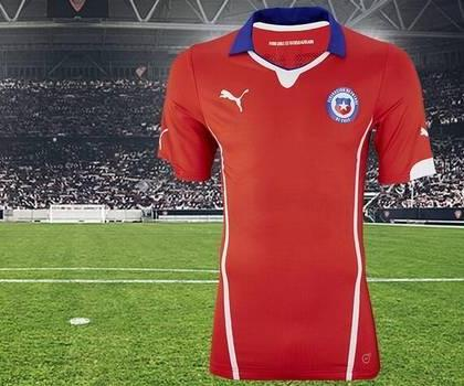 Chile World Cup Jersey 2014