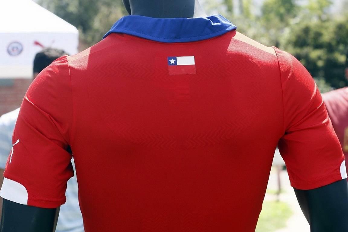 Chilean Football Shirt Back