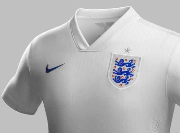 England Football Top Armour 2014