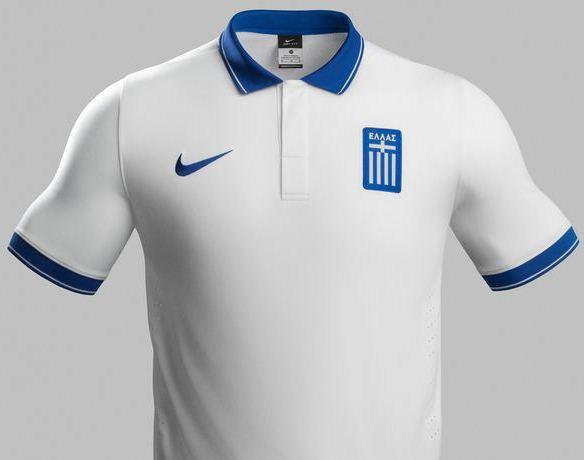 Greece World Cup 2014 Jersey