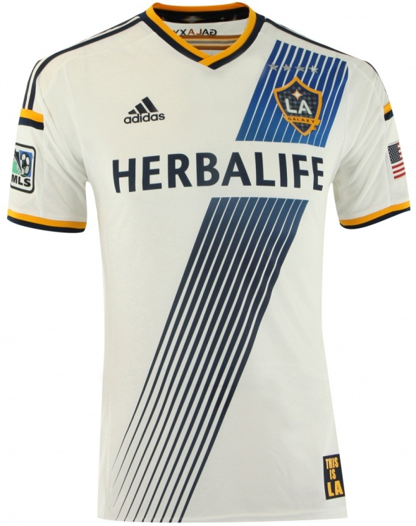 newest f8323 3ac68 FlagWigs: New LA Galaxy Home Jersey Shirt Kit 2014 / Have a ...