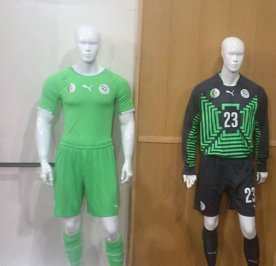 New Algeria World Cup Jersey 2014