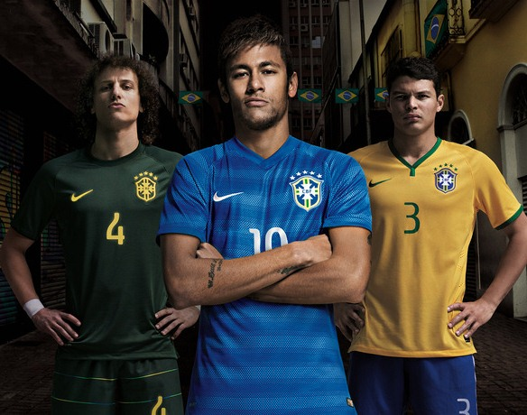 New Brazil Away World Cup Kit 2014