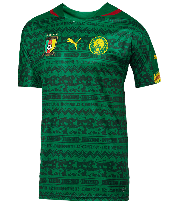 New Cameroon World Cup Jersey 2014