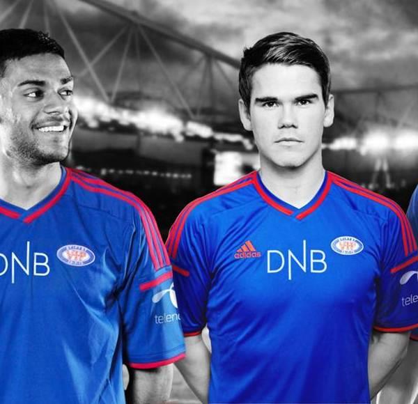New Valerenga Football Shirt 2014