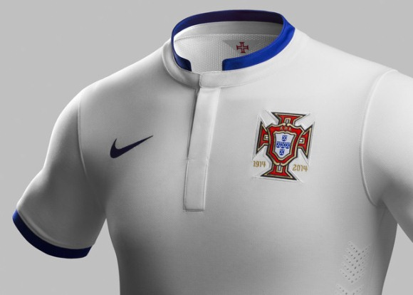 Portugal Away Shirt Collar