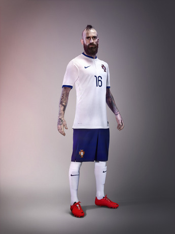 Raul Meireles Portugal Away Shirt 2014 15