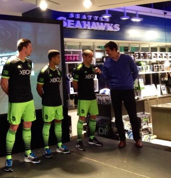 Seattle Sounders New 2014 Kit