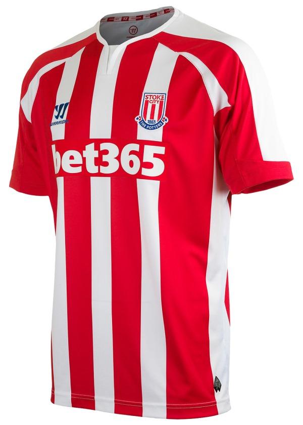 Kit   Warrior Football Stoke City Jerseys   Home Away