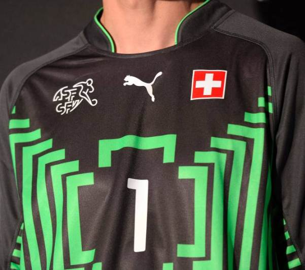 Switzerland Goalkeeper Jersey 2014