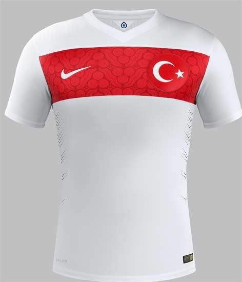Turkey Away Jersey 2014 2015