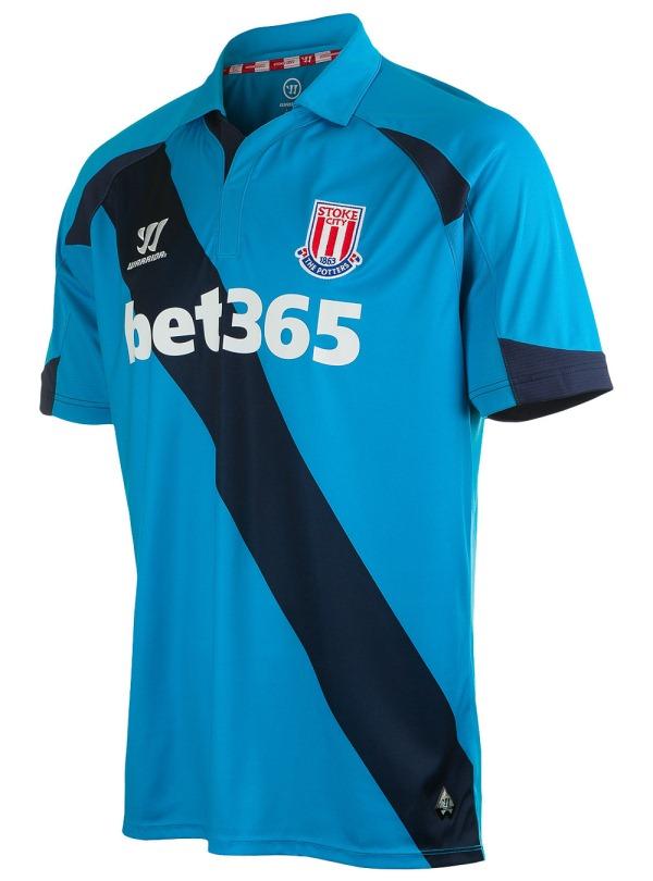 new Stoke Away Shirt 2014 15