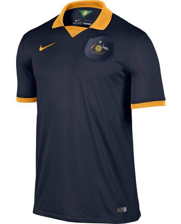 Australia Away Football Shirt 2014 World Cup