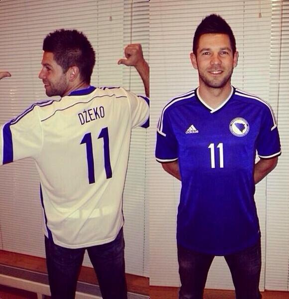 Bosnia World Cup Jersey 2014