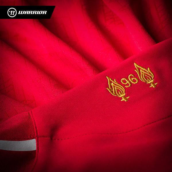 Hillsborough Tribute LFC 2014 2015 Kit