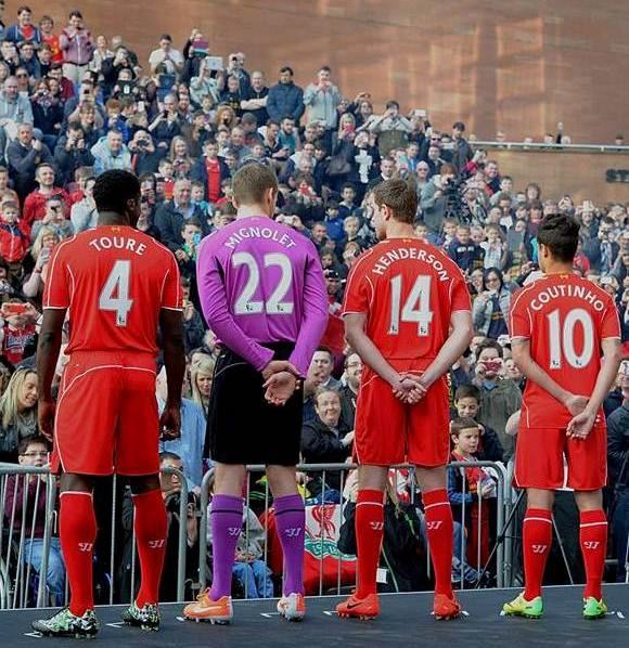 Liverpool New Strip 14 15