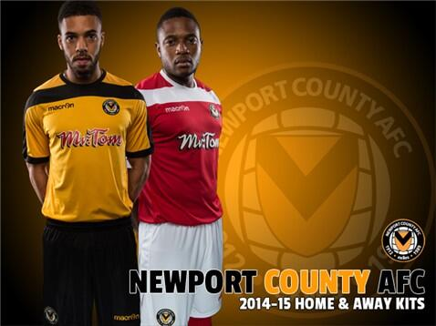 Macron Newport County Kit 2014 15