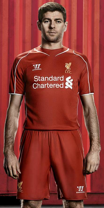 Liverpool 15 16 kit leaked celebrity