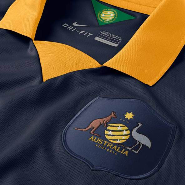 Socceroos Alternate Jersey 2014 2015