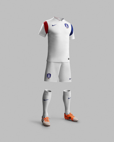 White South Korea World Cup Shirt