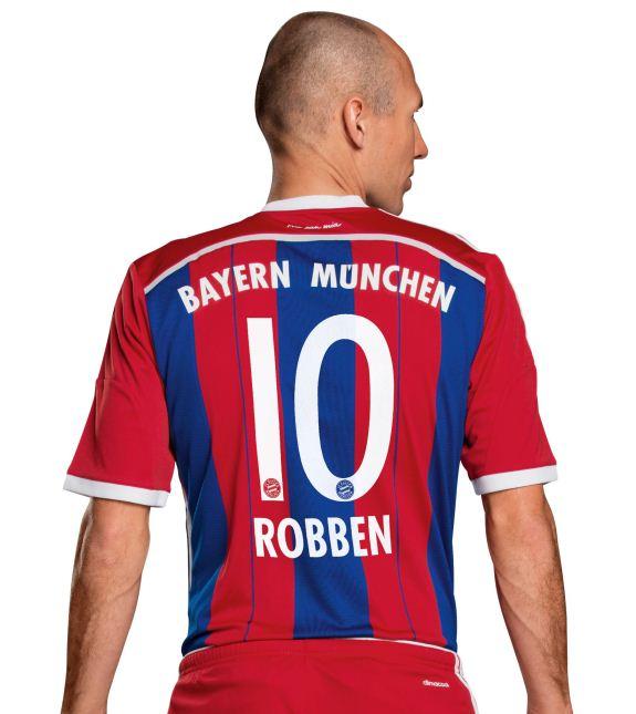 Bayern New Kit 2014 15 Back