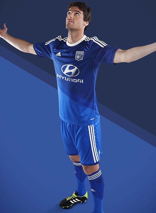 Blue Lyon Away Shirt 2014 15