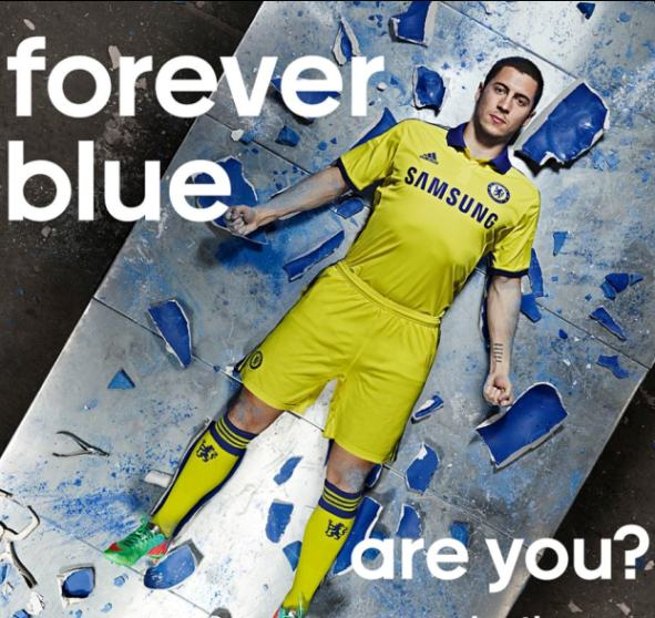 Hazard Chelsea Away Kit