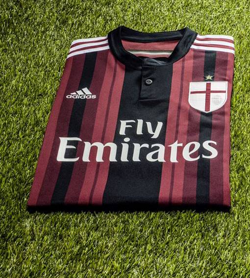 New AC Milan Home Jersey 2014 2015