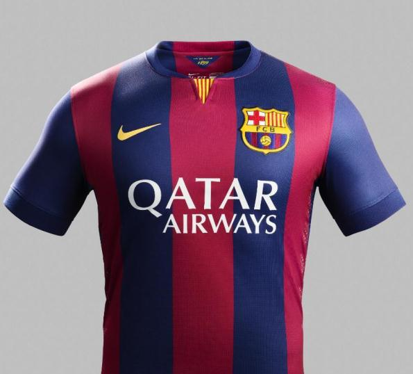 New Barcelona 2014 15 Kit