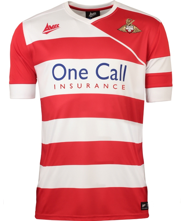 New Doncaster Rovers Home Kit 2014 15