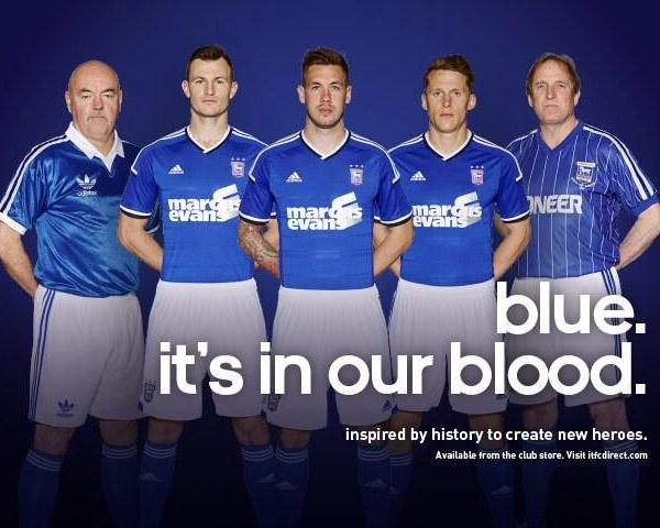 New Ipswich Home Kit 2014 15