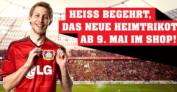 New Leverkusen Home Kit 14 15