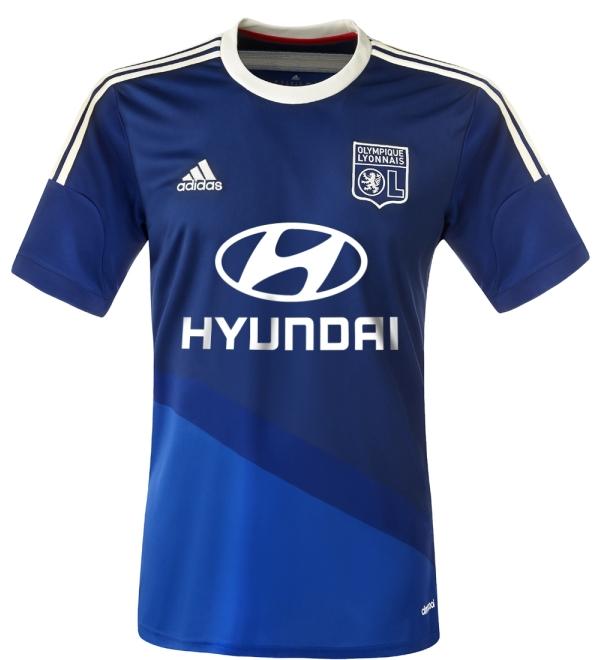 New Lyon Away Kit 2014 15