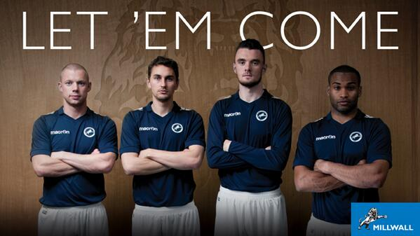 New Millwall Kit 14 15