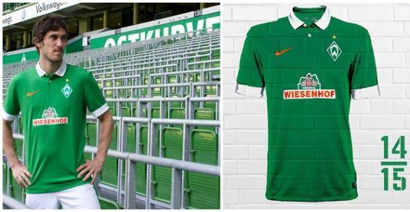 New Werder Bremen Kit 14 15