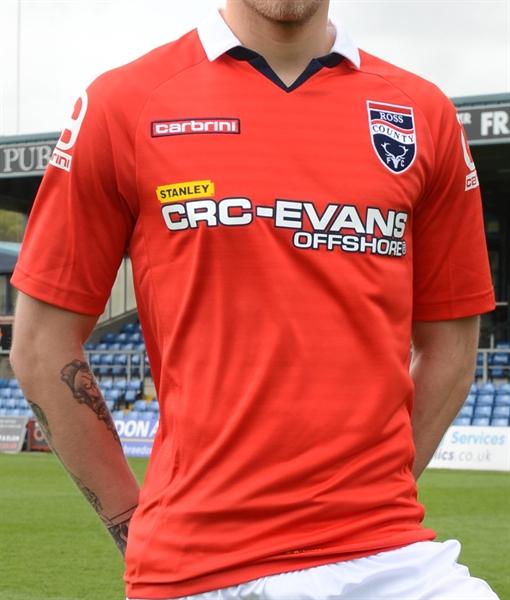 Ross County Away Shirt 2014 2015