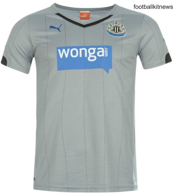 Silver Newcastle United Kit 2014 15
